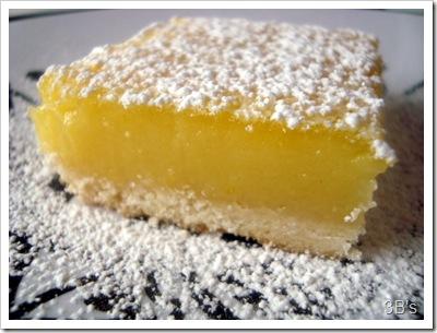 Lemon Square Bars With Cake Mix