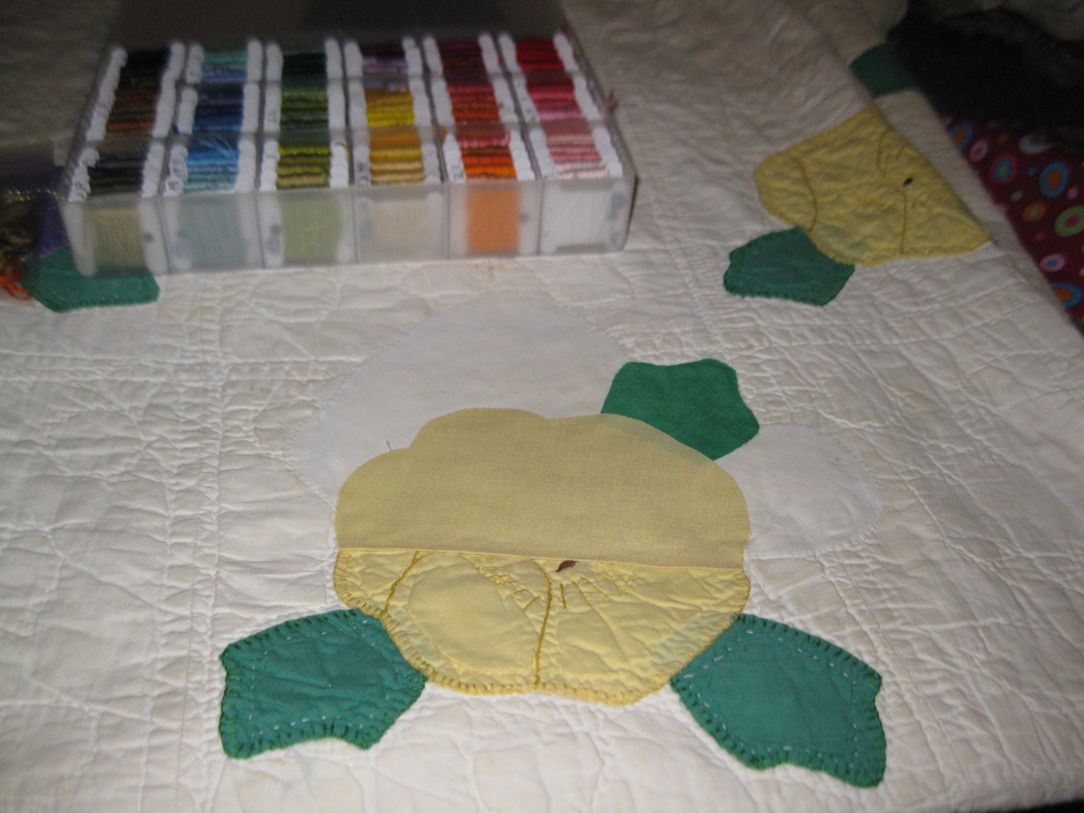Antique Quilt Restoration | Dandelion Mama : antique quilt repair - Adamdwight.com