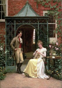 Edmund_Blair_Leighton_-_On_the_Threshold